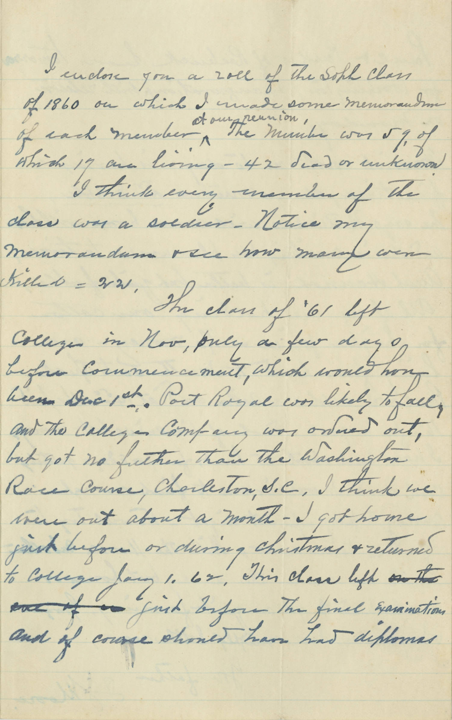 Letter, 1902 March, Thomas J. Moore (Spartanburg, SC) to his son A. C. Moore (Columbia, SC), Page 3